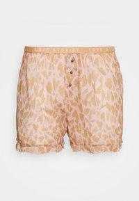 BUTTER - Pyjama bottoms - heart leo/velvet haze