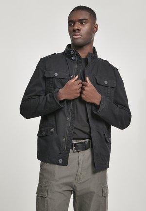 HERREN BRITANNIA JACKET - Summer jacket - black