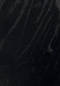 Missguided - COSTELLO PUFF SLEEVE SKATER DRESS - Cocktailkjole - black - 2