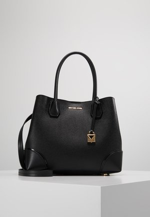 MERCER GALLERY CENTER ZIP TOTE - Torebka - black