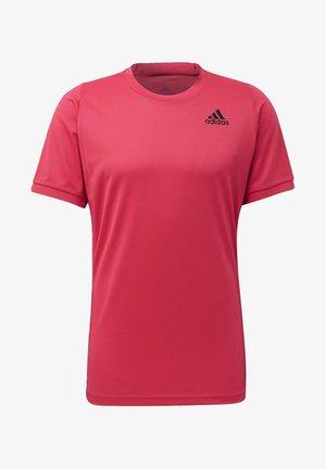 FREELIFT SOLID TENNIS T-SHIRT HEAT.RDY - T-shirt med print - pink