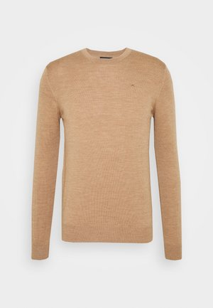 LYLE CREW NECK - Jumper - camel