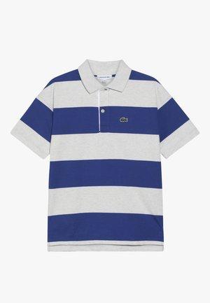 POLO - Polo shirt - alpes grey chine/ionian-white