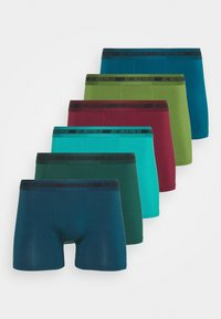 6 PACK - Pants - navy/green/red