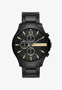 Armani Exchange - Chronograph - schwarz ip - 1