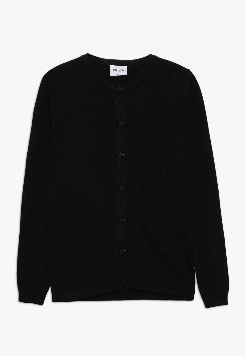 The New - BASIC CARDIGAN - Kardigan - black