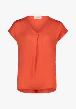 Basic T-shirt - papaya orange