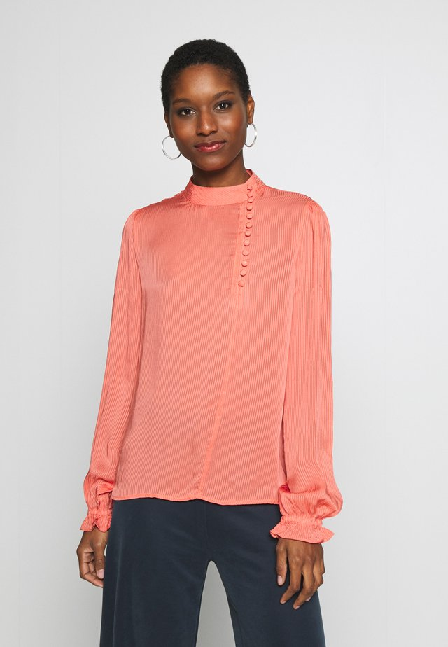 DRHAFIDA  - Blouse - deep sea coral