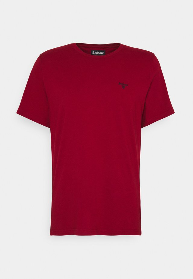 SPORTS TEE - T-Shirt print - crimson