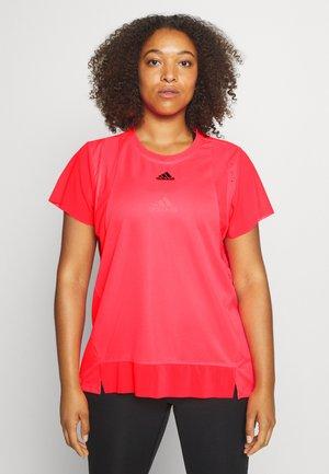 TEE  - T-shirts basic - signal pink