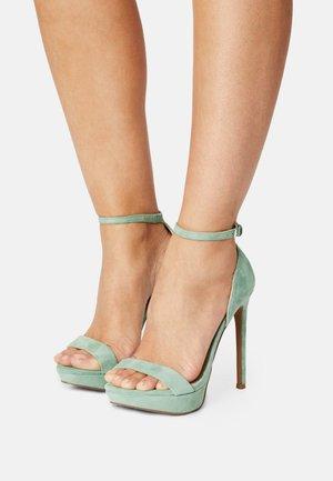 SARAH - Sandals - mint green