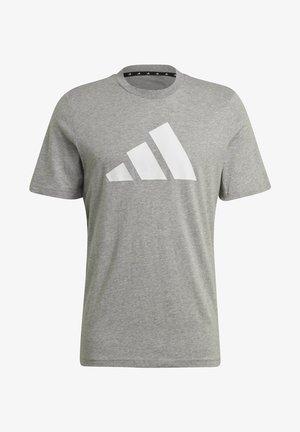 BADGE OF SPORT - T-shirt med print - grey