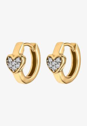 Earrings - gelbgold