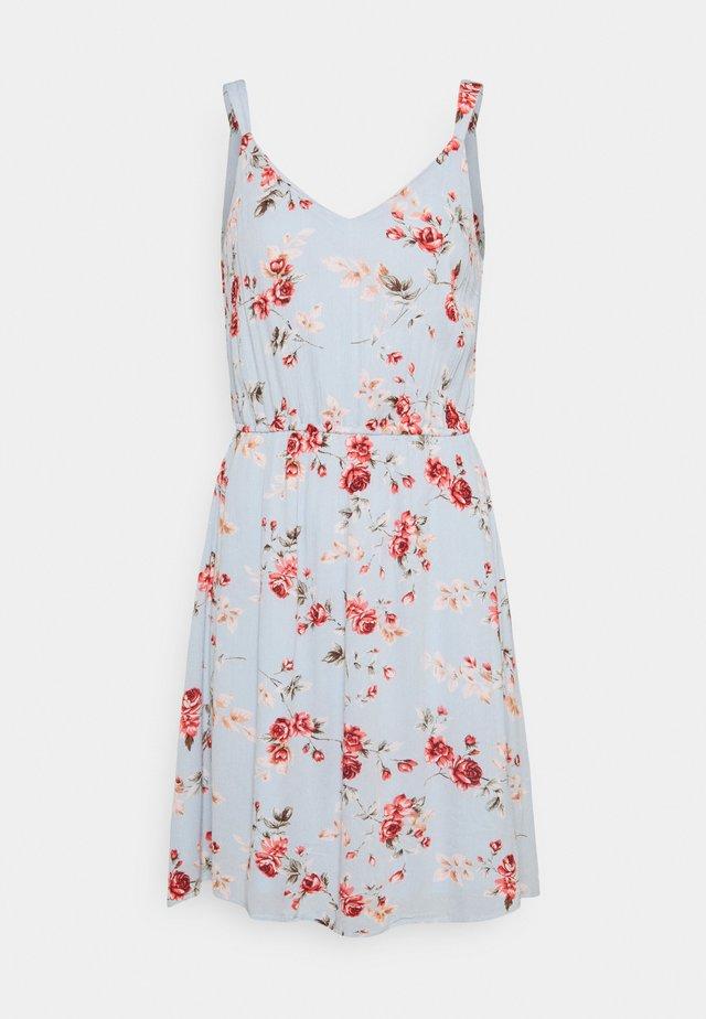 ONLKARMEN SHORT DRESS - Korte jurk - cashmere blue/blue