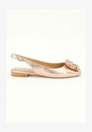 AZORES - Slingback ballet pumps - pink