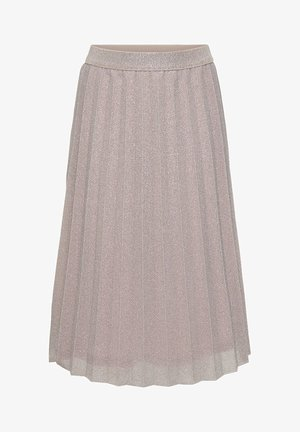 PLISSEE - A-line skirt - dusty pink