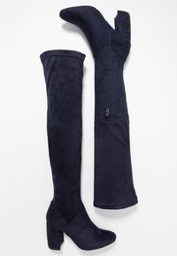 Anna Field - Over-the-knee boots - blue - 3