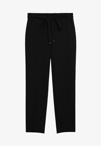 SEMIFLU - Pantalon classique - noir