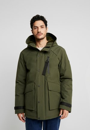 RIPSTOP  - Winter coat - dark khaki