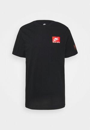 TEE MECH AIR FIGURE - T-shirt con stampa - black