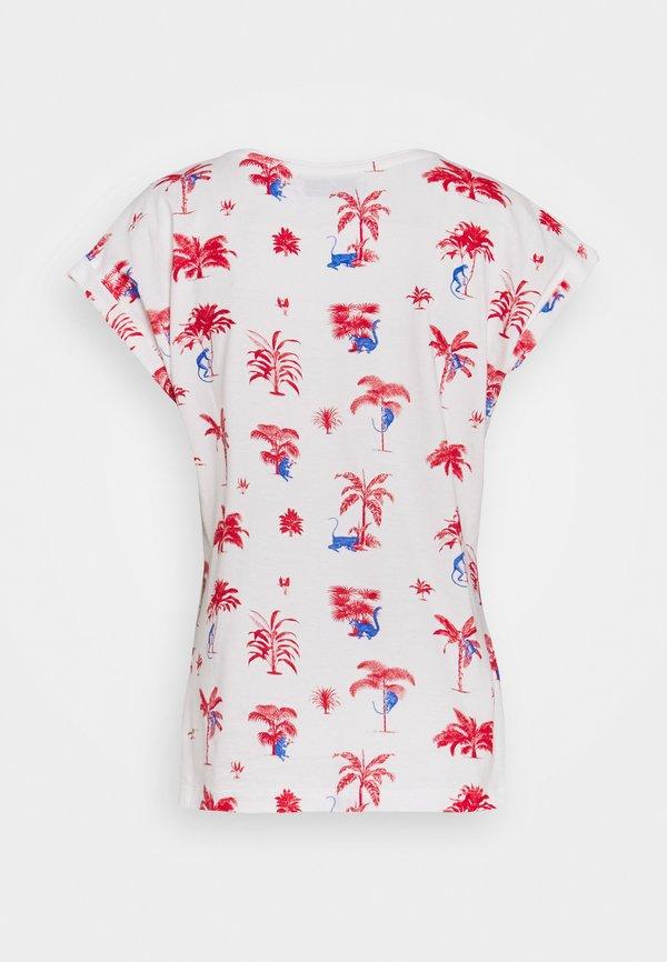 Dedicated T-SHIRT - T-shirt z nadrukiem - off white Nadruk Odzież Damska DAZY KZ 6