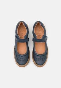 Bisgaard - RAIN - Ankle strap ballet pumps - navy - 3