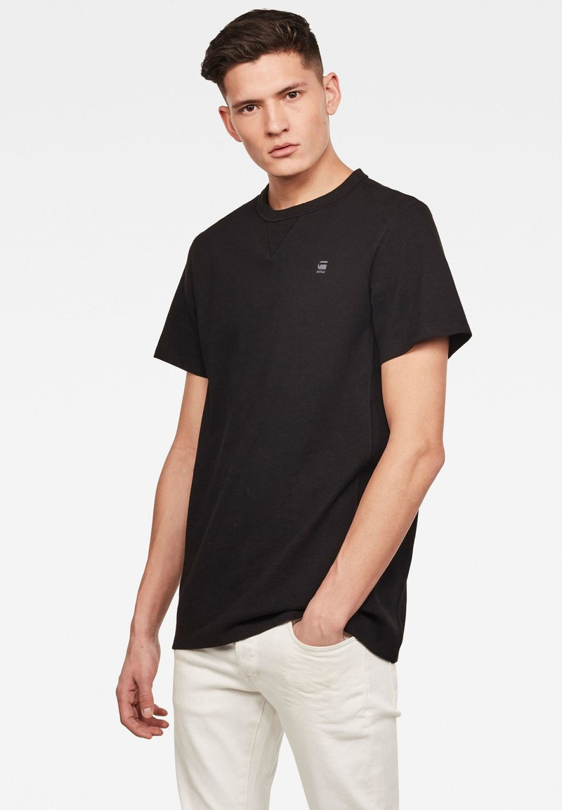 G-Star - PREMIUM CORE R T S\S - T-shirt basic - black