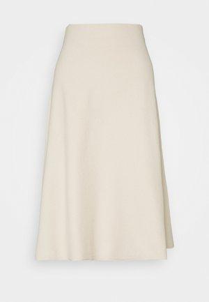 CACHI - Áčková sukně - elfenbein