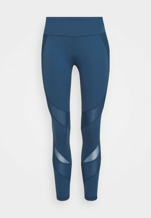 POWER SCULPT WORKOUT LEGGINGS - Medias - stellar blue