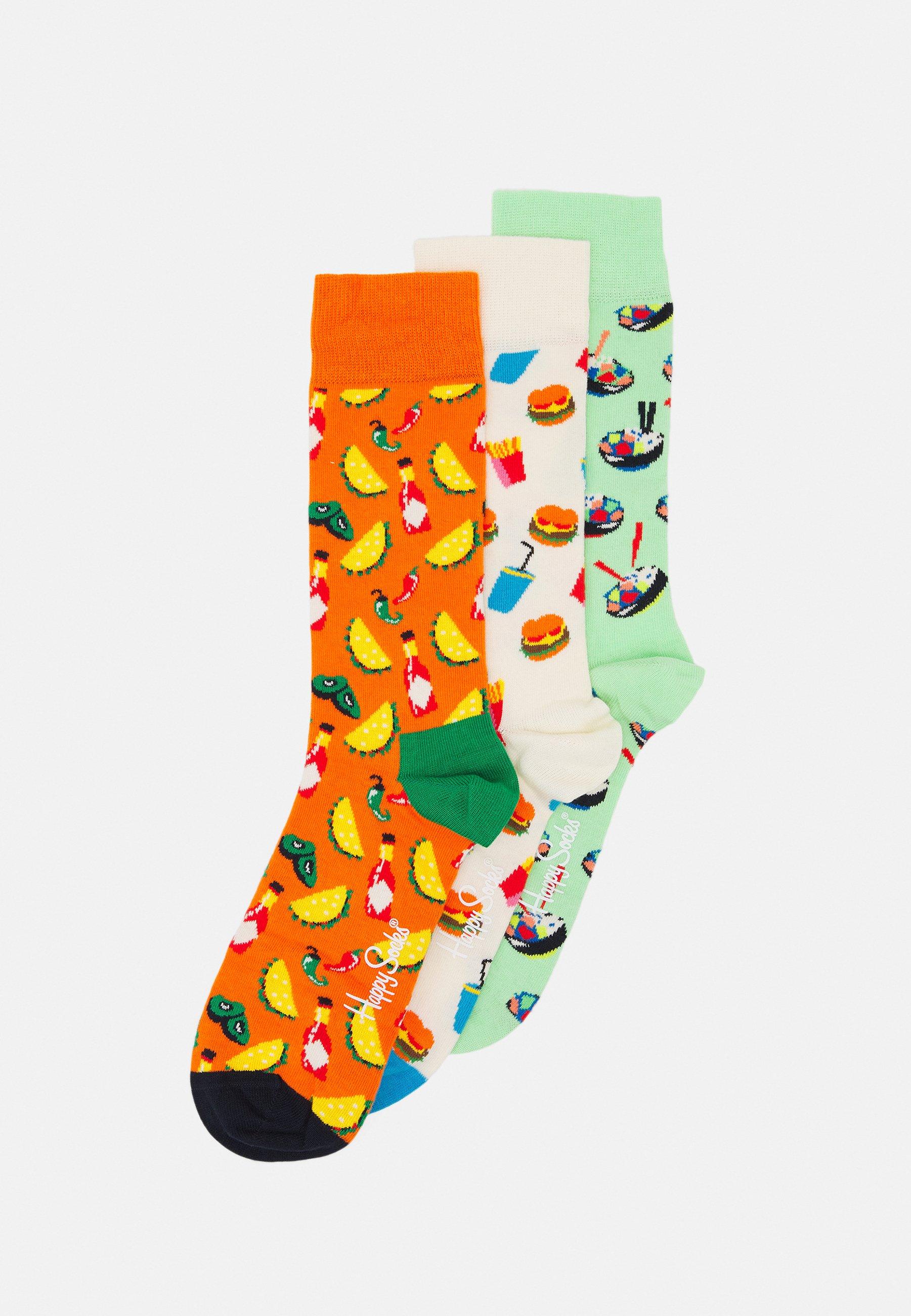 Men FOOD LOVER SOCKS GIFT SET 3 PACK - Socks