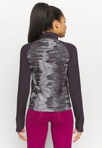 adidas Performance - ZIP - Sports shirt - purple - 2