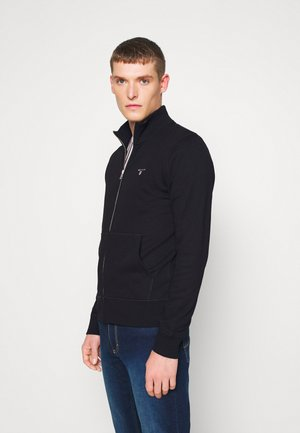 THE ORIGINAL FULL ZIP - veste en sweat zippée - black