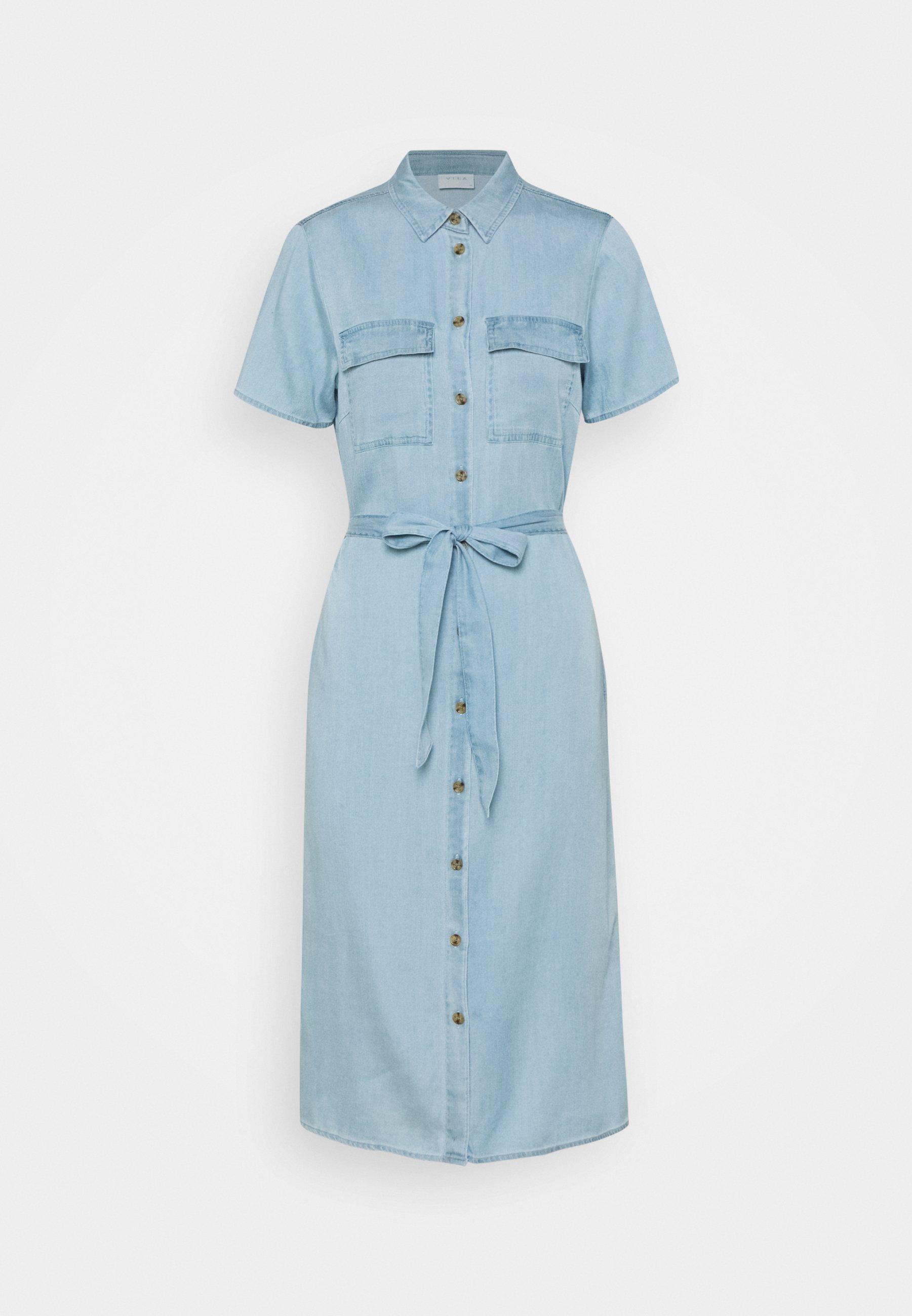 Women VISABINA BISTA SHIRT DRESS - Denim dress