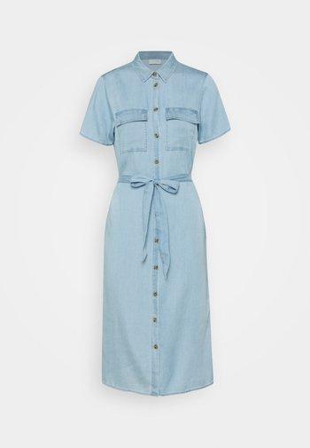 VISABINA BISTA SHIRT DRESS - Denim dress - light blue denim