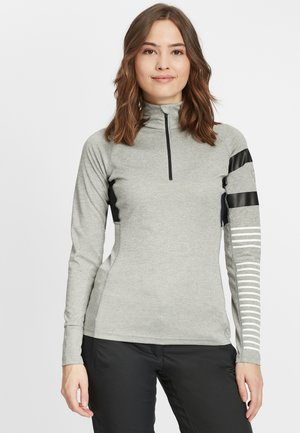 1/2 ZIP POURSUITE - Sports shirt - heather grey
