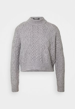 CABBIE - Sweter - grey