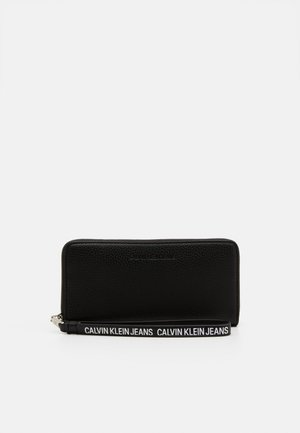 ZIP AROUND WRISTLET - Lommebok - black