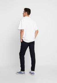 We are Cph - JANZIK STRING PANTS  - Trousers - navy/white - 2