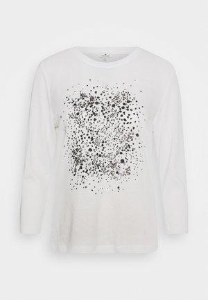 FRONTPRINT - Pullover - whisper white