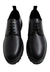 Mango - BLUELIGH - Smart lace-ups - schwarz - 1