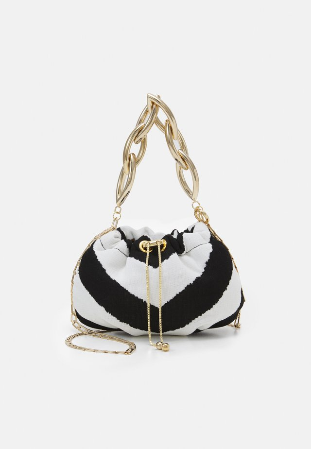 BUBBLE SMALL - Borsa a mano - black