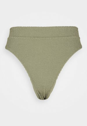 HIGH BRIEF - Bikini bottoms - vert/light moss