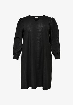 CURVY - Day dress - black