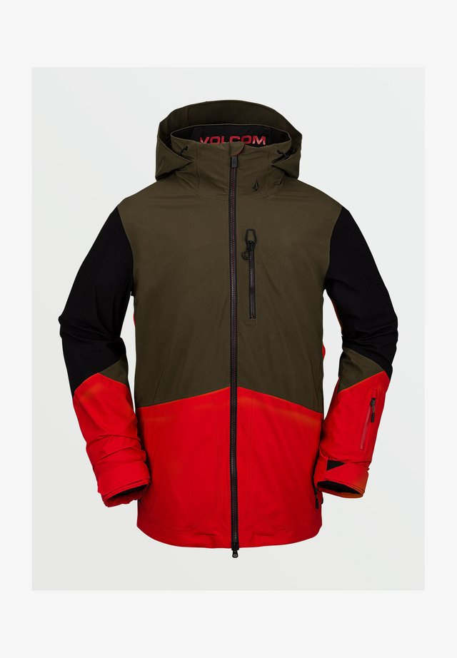 BL STRETCH GORE JACKET - Snowboardjas - red