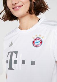 adidas Performance - FC BAYERN MÜNCHEN - Klubové oblečení - white - 5