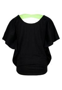Vingino - IRISSA - T-shirt print - deep black - 1