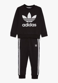 adidas Originals - CREW SET - Tracksuit - black - 0