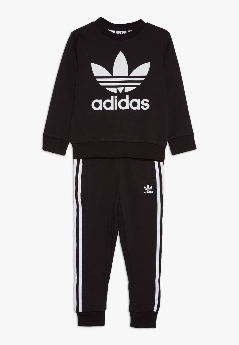 adidas Originals - CREW SET - Tuta - black