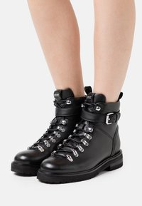 JOOP! - UNICO MARIA BOOT  - Lace-up ankle boots - black - 0