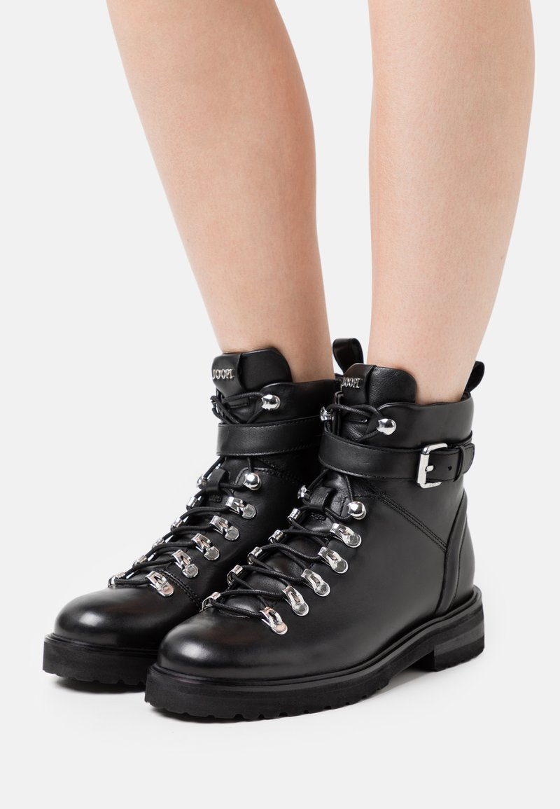 JOOP! - UNICO MARIA BOOT  - Lace-up ankle boots - black